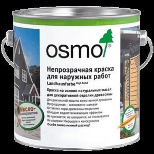 Укрывная краска для дерева для наружных и внутренних работ OSMO Landhausfarbe