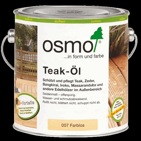 Террасное масло OSMO 007 Terrace oil Бесцветное