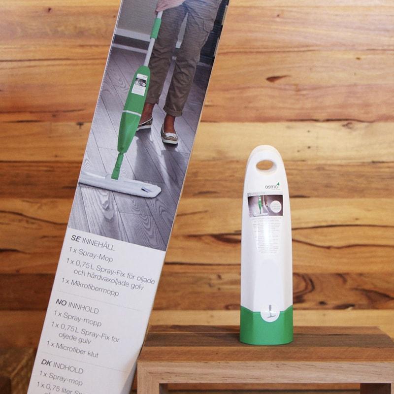 Швабра с распылителем Spray-mop и насадкой из микрофибры - средство Spray fix
