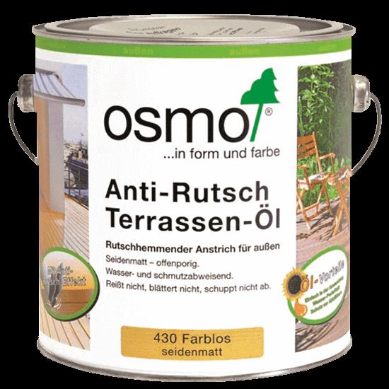 масло для террасной доски OSMO 430 Anti-Rutsch Terrassen-Öl Нескользящее