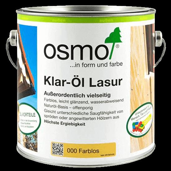 Бесцветная лазурь OSMO Klar-Öl Lasur (арт.000) Шелковисто-матовая