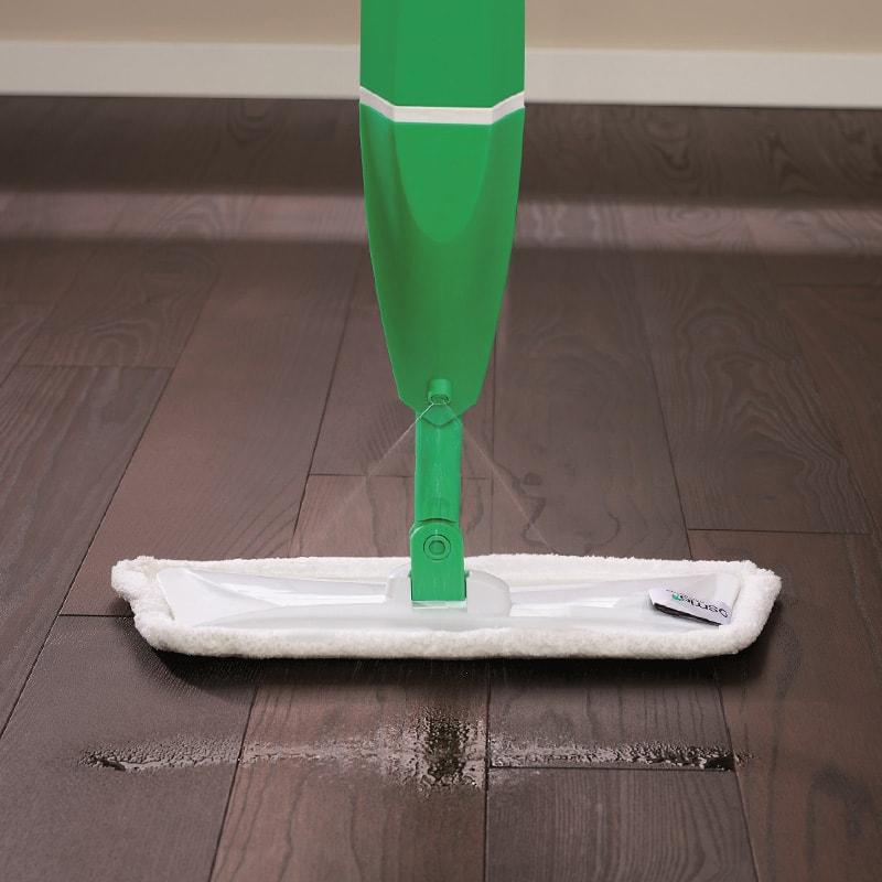 Швабра с распылителем Spray-mop и насадкой из микрофибры