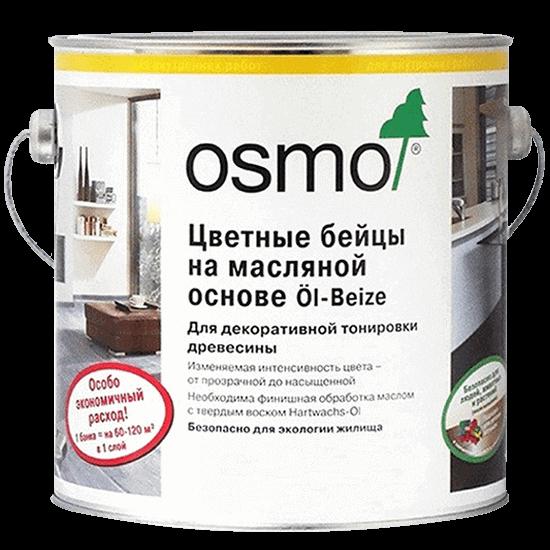 Цветной бейц для дерева на масляной основе OSMO Öl-Beize