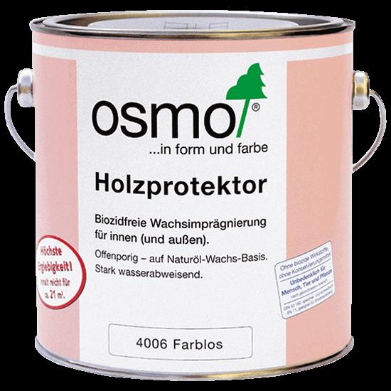 Водоотталкивающая пропитка для дерева OSMO Holzprotector - 4006 Бесцветная
